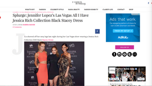 JESSICA RICH COLLECTION FEATURED ON FASHION BOMB DAILY JLO