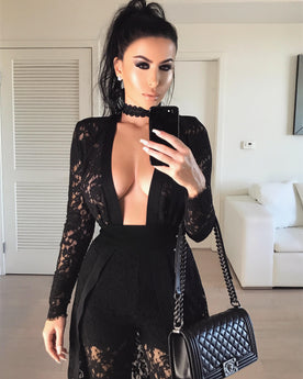 AMREZY IN THE REBEKAH LACE SET