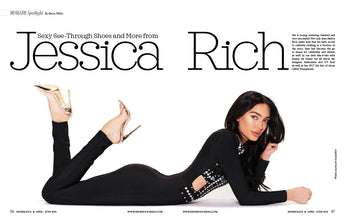 4/11/2018 JESSICA RICH FEATURED IN SHOEHOLICS MAGAZINE