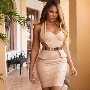 SINGER ASHANTI IN JESSICA RICH COLLECTION