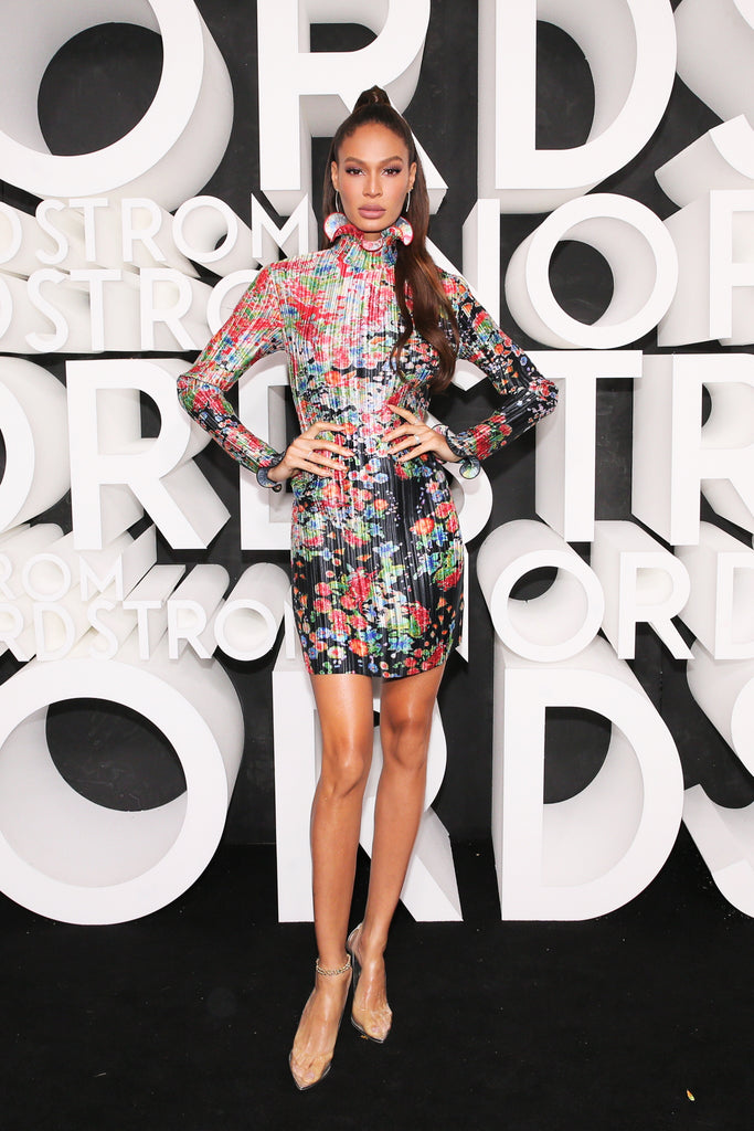 JOAN SMALLS WEARS FANCY SILVER TO NORDSTROMS RELEASE
