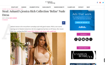 JESSICA RICH COLLECTION FEATURED ON FASHION BOMB DAILY
