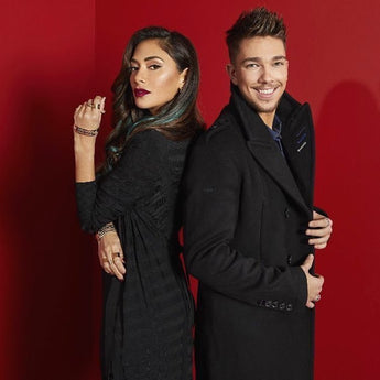 nicole scherzinger wears the Sydney Jacket from Jessica Rich Collection