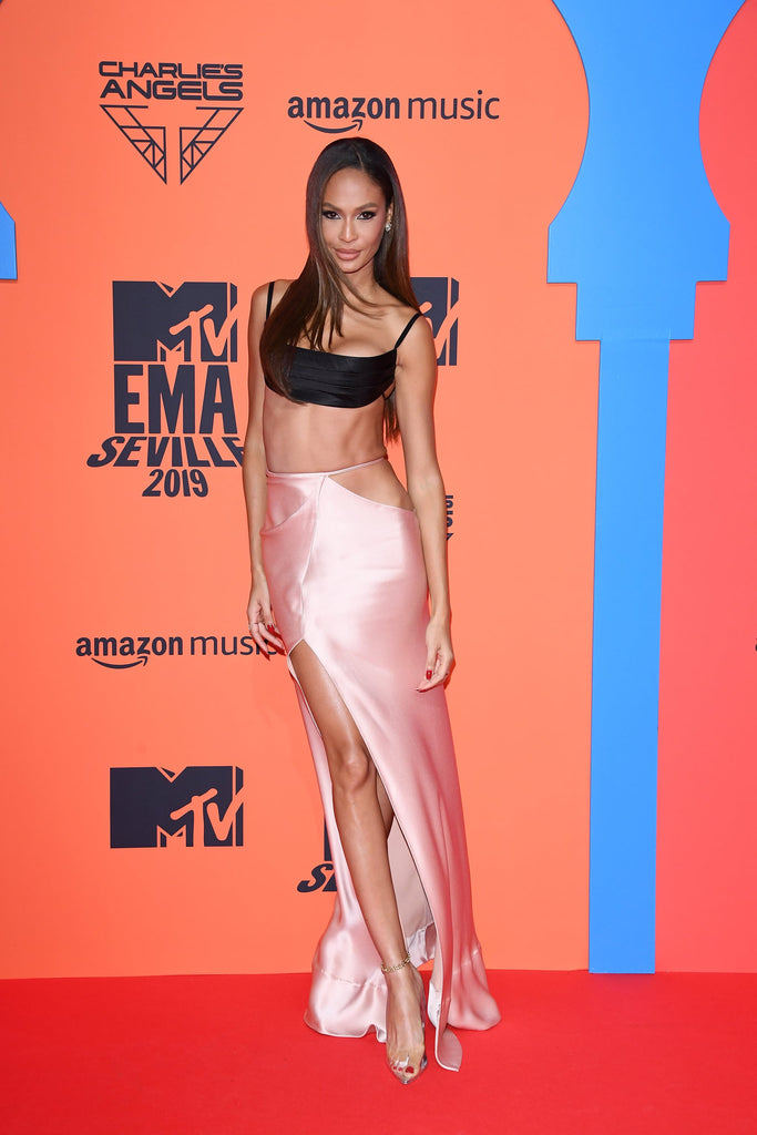 JOAN SMALLS IN FANCY STILETTO SILVER