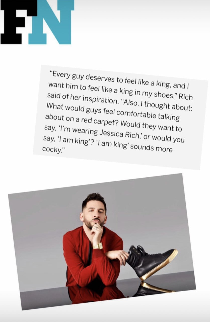 JESSICA RICH x JON B IN FOOTWEAR NEWS