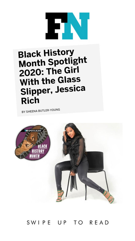 JESSICA RICH EXCLUSIVE INTERVIEW X FOOTWEAR NEWS