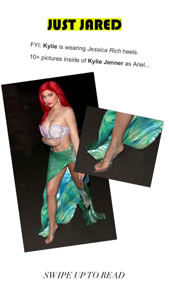 KYLIE JENNER X JUST JARED NEWS HALLOWEEN