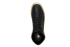 GOLDEN SOULS MENS HIGHTOP BLACK