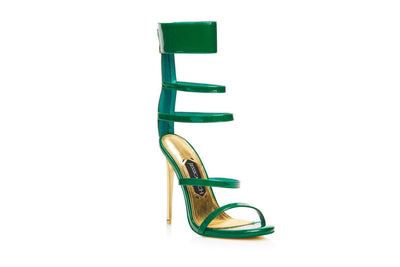 GODDESS SANDAL GREEN