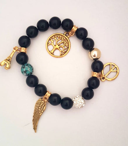 Bracelet with Quirky Charms
