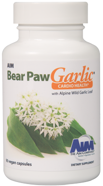 AIM-BEAR PAW GARLIC VEGICAPS