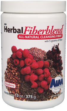 AIM-HERBAL FIBERBLEND RASPBERRY POWDER