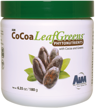 AIM-LEAFGREENS COCOA POWDER