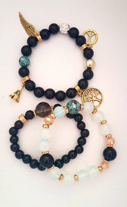 Bracelet- Gold and Black