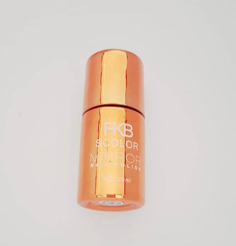 Chrome Mirror Effect Nail Polish- Bronze
