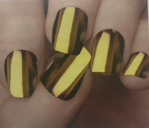 Chrome Mirror Effect Nail Polish- Gold