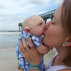 Brittany and Jaxon Buell