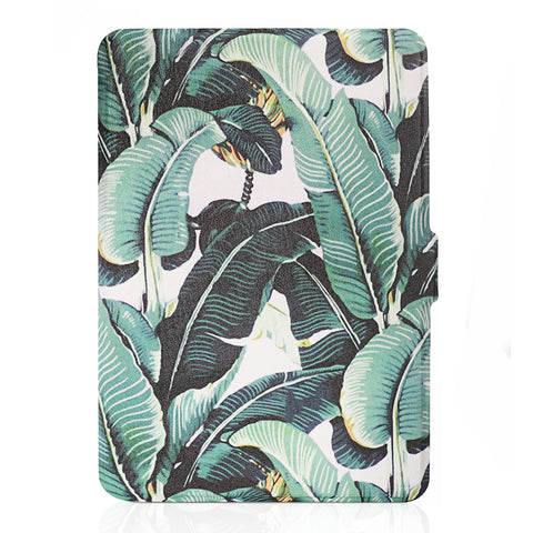Banana Leave Smart Case for Kindle Paperwhite (Fits 2012, 2013, 2015, 2016 Versions with Built-in Light)
