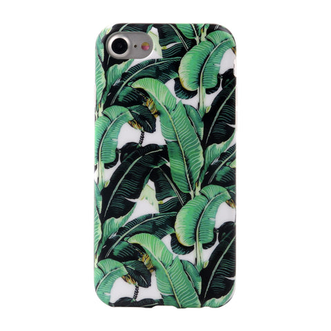 iPhone 7 Banana Palm Leave Case - 2017 - marble iphone case