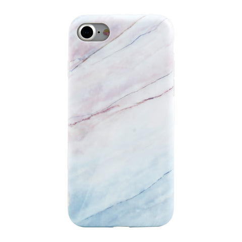 iPhone 7/7+ Coral Marble Case - marble iphone case