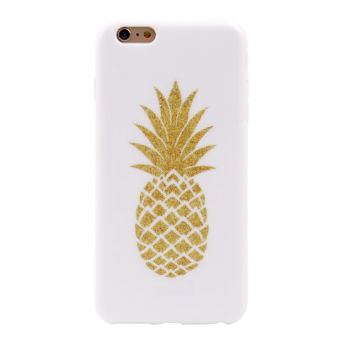 iPhone 6 Plus Pineapple Case - 2017 - marble iphone case