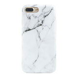 iPhone 7 / 7+ White Marble Case - marble iphone case