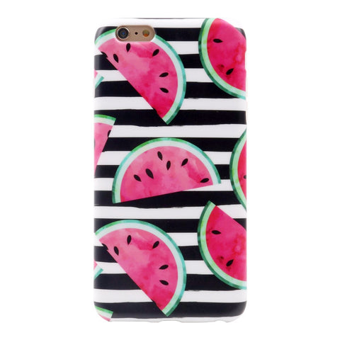 iPhone 6 Plus Watermelon Case - 2017 - marble iphone case
