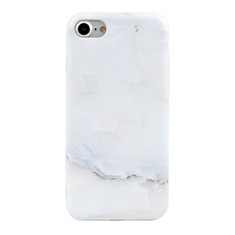 iPhone 7/7+ Milky Marble Case - marble iphone case
