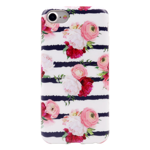 iPhone 7 / 8 Floral Case  - 2017 - marble iphone case