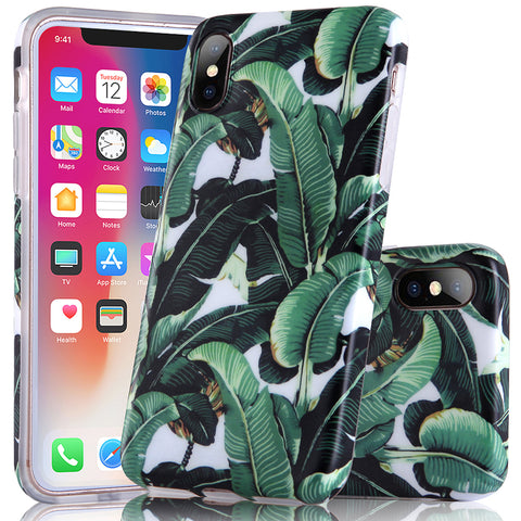 iPhone X Banana Leaf Case - 2017 - marble iphone case