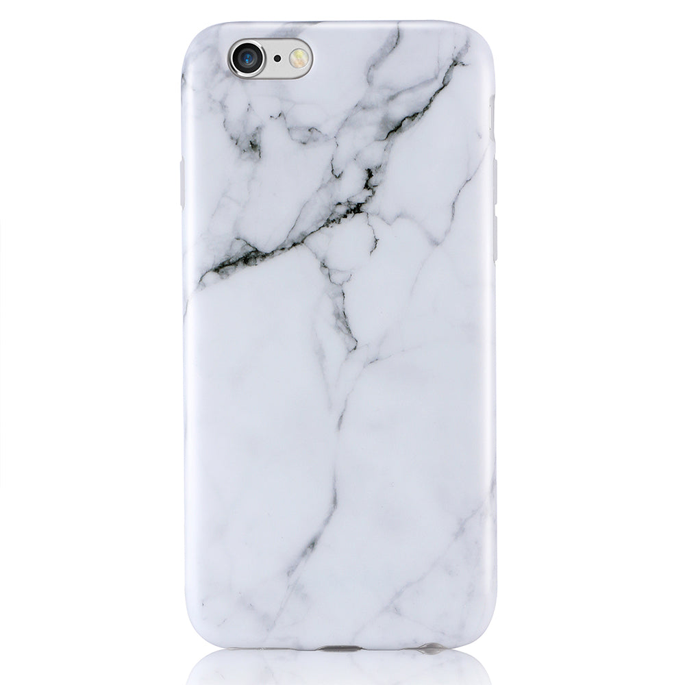 innovative design 1a789 1b300 iPhone 6/6+ White Marble Case