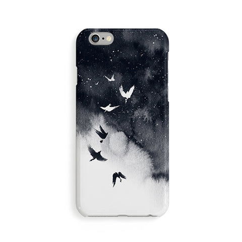 Night Bird iPhone Case *Limited Edition* - marble iphone case