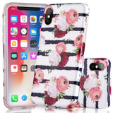 iPhone X Floral Case - 2017 - marble iphone case