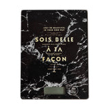 Black Marble Kitchen Scale - marble iphone case
