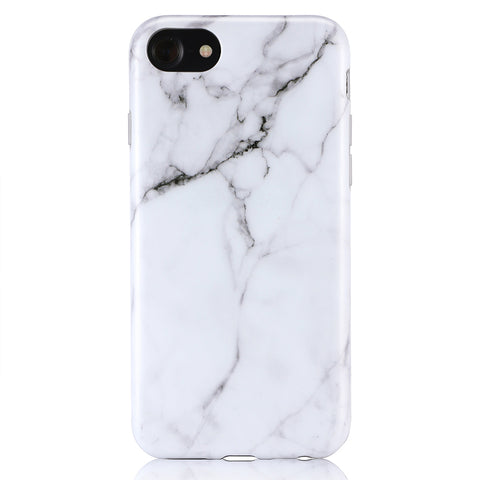 iPhone 7 / 8 White Marble Case - 2017 - marble iphone case
