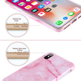 iPhone X Pink Marble Case - 2017 - marble iphone case