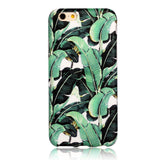 Banana Leaf - marble iphone case