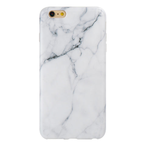 iPhone 6/6+ White Marble Case - marble iphone case