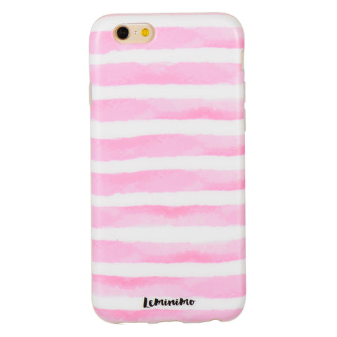 Pink Strip - marble iphone case