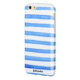 Sailor Striped - marble iphone case
