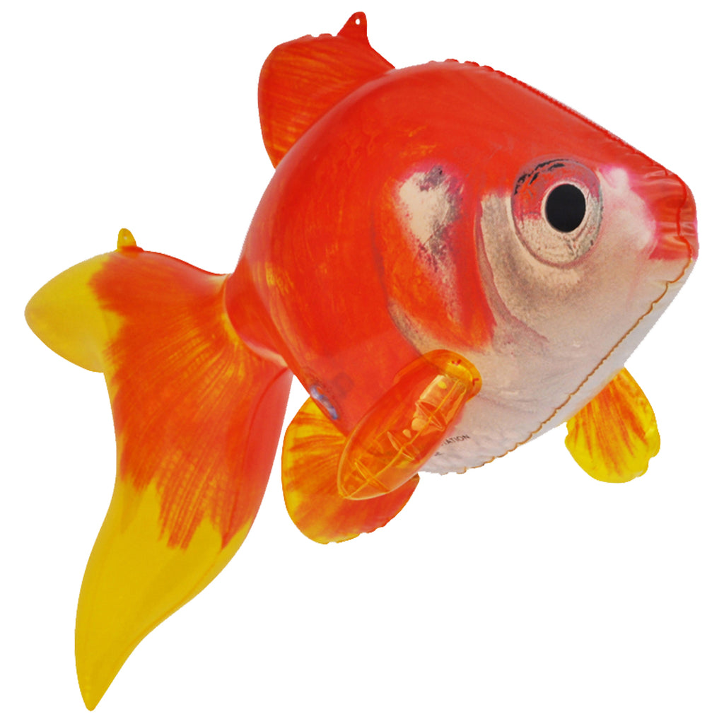 Gold Fish Inflatable, 20 inch Long [AN-GOLD]