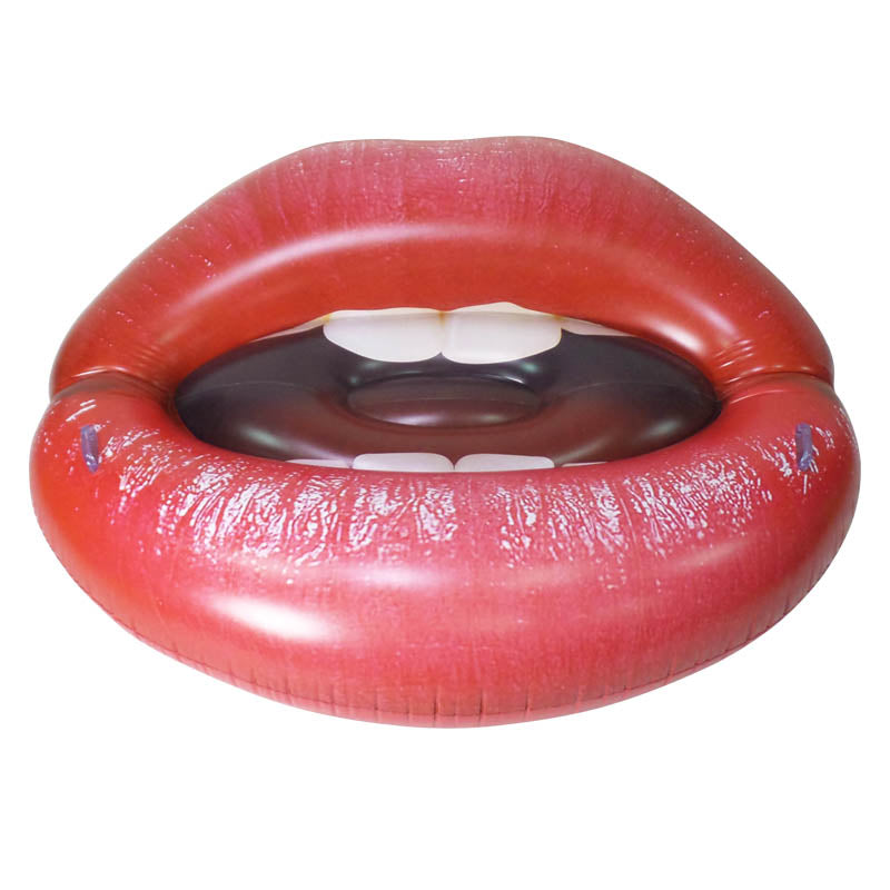 Inflatable Lip Float, 68 inch Long [FUN-LIPS], Jet Creations