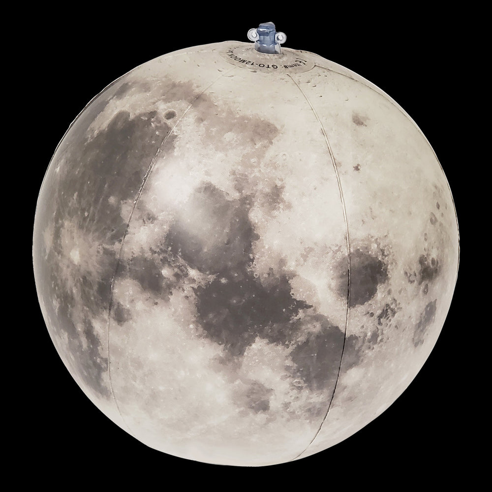 Earth's Moon Inflatable, 12 inch [GTO-12MOON]
