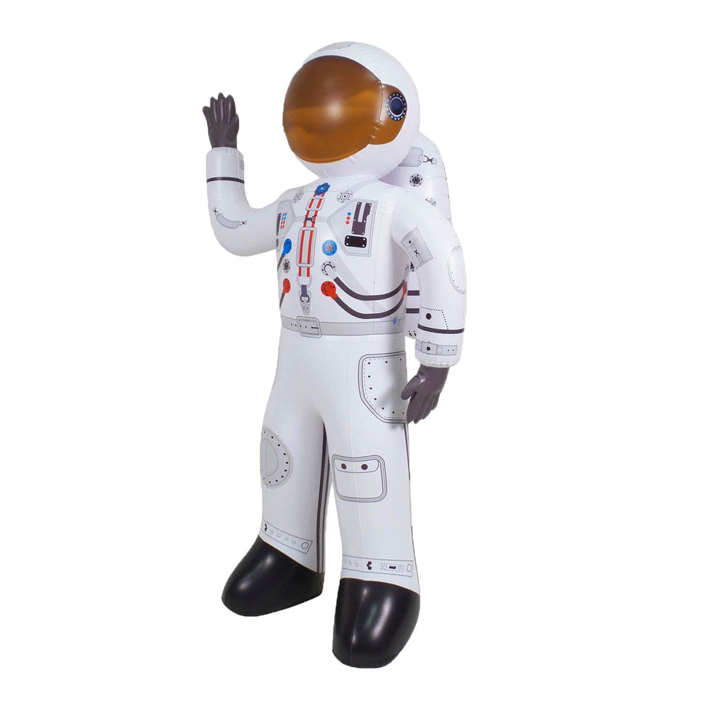 Inflatable Astronaut Earth Moon and Rocket for Boys and Girls. Ideal for Birthday Classroom and Party Decors. JC-X0002