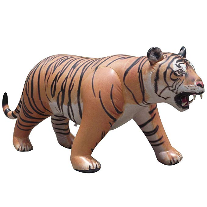 Jet Creations AL-TIGER Inflatable LIFELIKE Tiger, 96 inch [AL-TIGER]