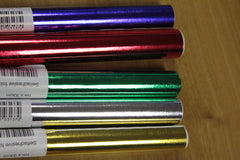 Metallic Self Adhesive Creative Paper Rolls - 5 pack