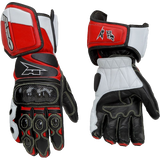 AXO KK4-R Men's Leather Street Bike Motorcycle Gloves