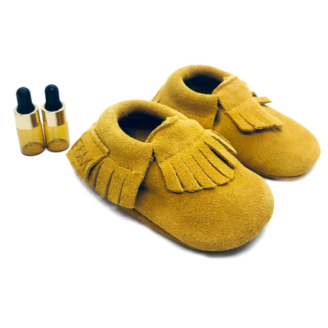 Mustard Diffuser Moccasins
