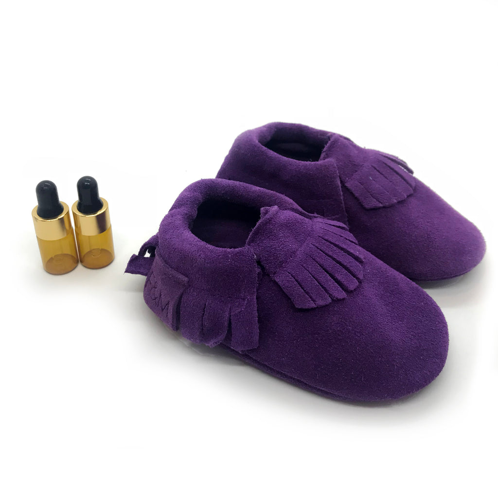 Royal Purple Diffuser Moccasins