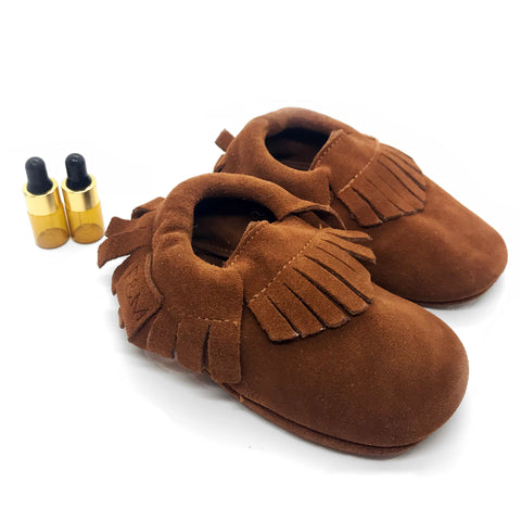 Leather Diffuser Moccasins